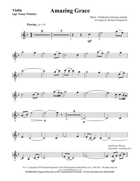 Amazing Grace (violin solo)