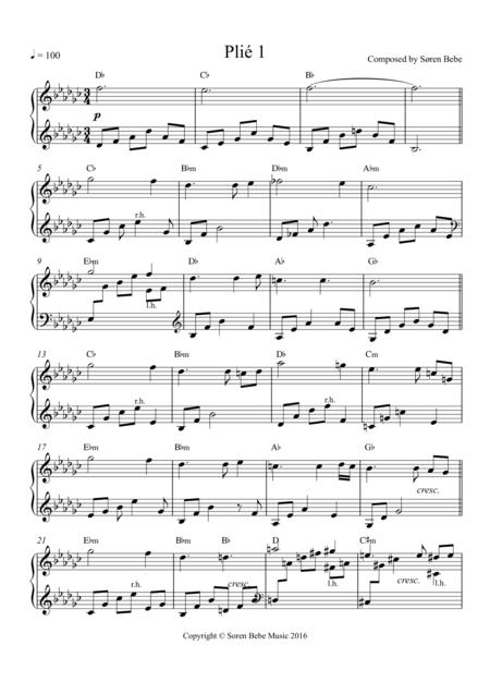 Plié 1 - Music for Ballet Class