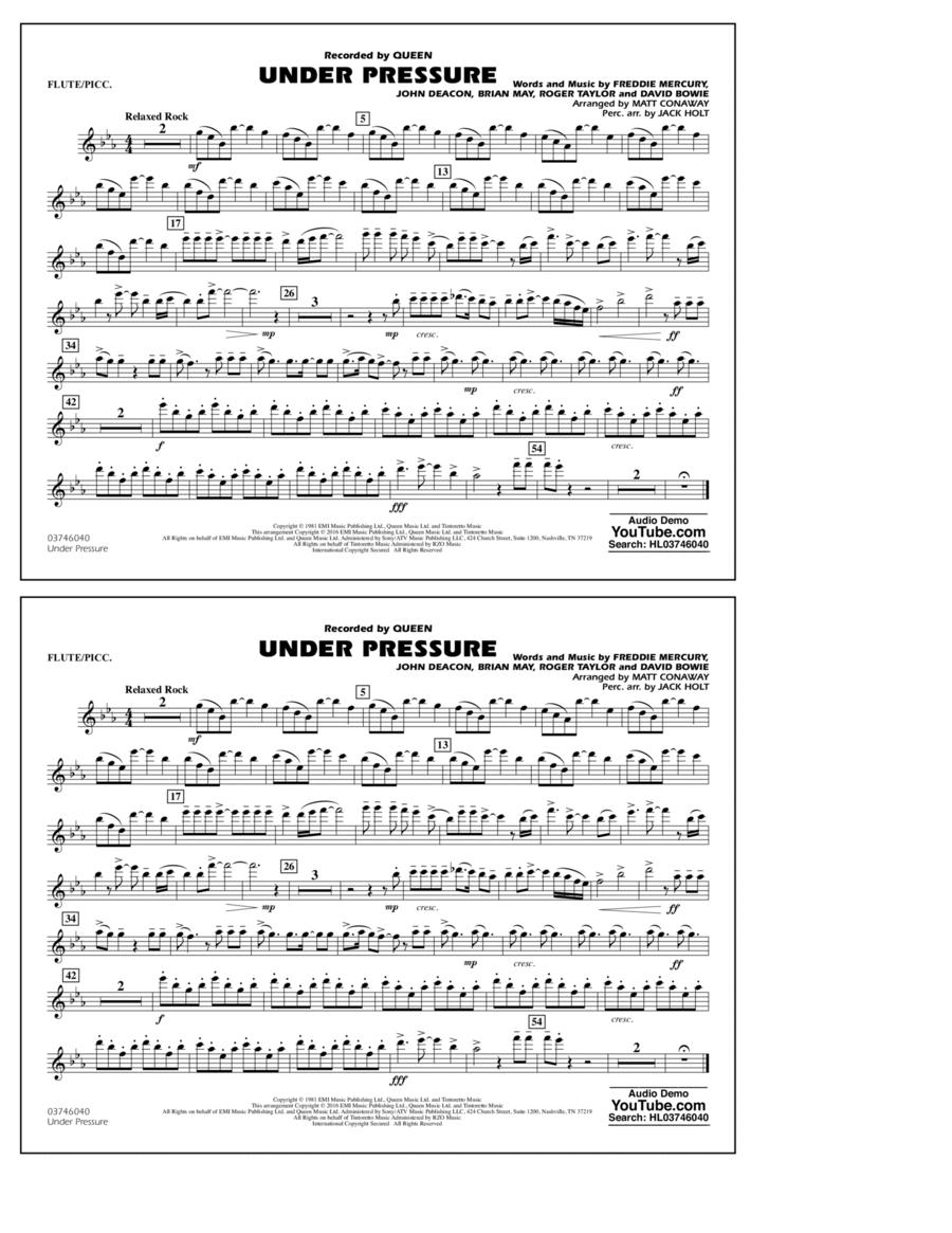 Under Pressure - Flute/Piccolo