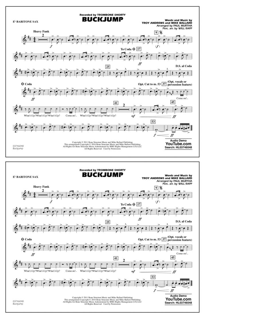 Buckjump - Eb Baritone Sax