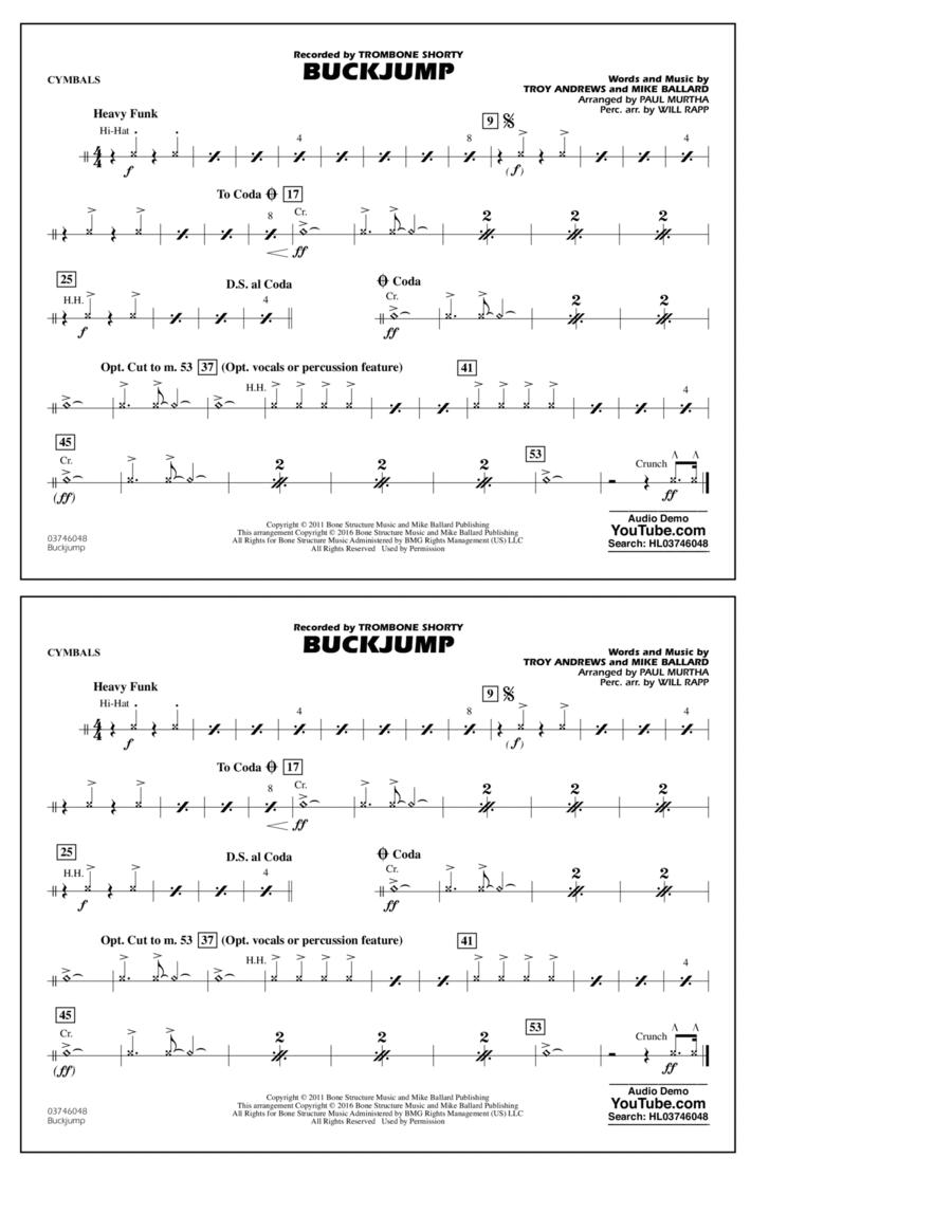 Buckjump - Cymbals