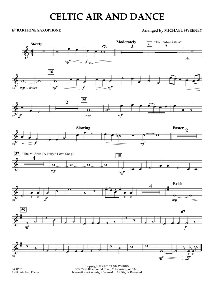 Celtic Air and Dance - Eb Baritone Saxophone