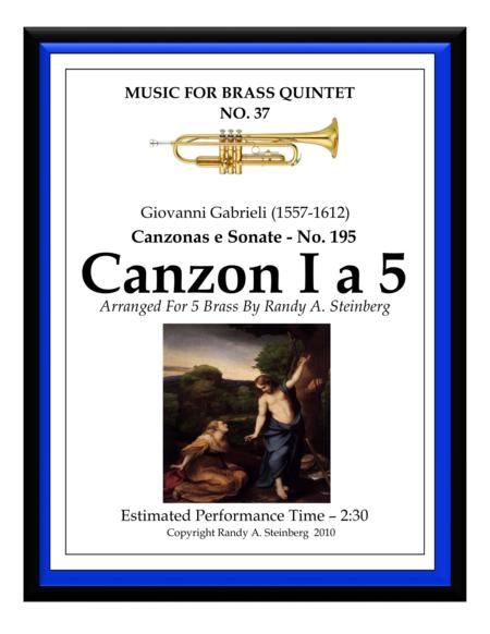 Canzon I a 5 - No. 195