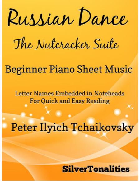 Russian Dance Beginner Piano Sheet Music