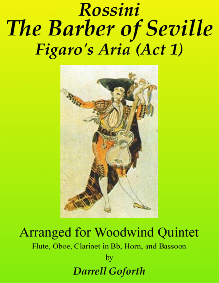 Rossini: Figaro's Aria from