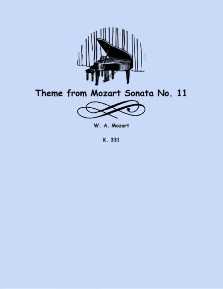 Theme from Piano Sonata No. 11 (string trio)