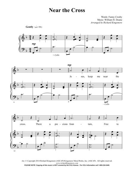 Near the Cross (Vocal/Piano)