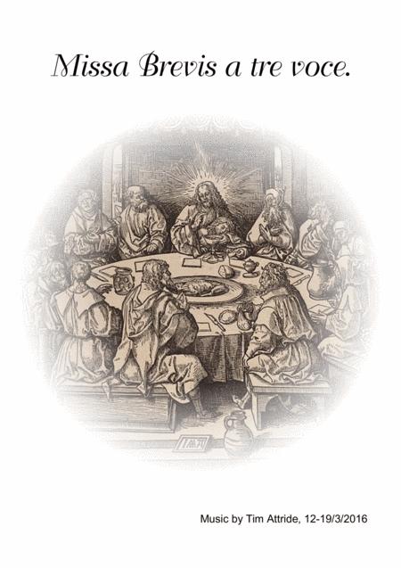 Missa Brevis a tre voce