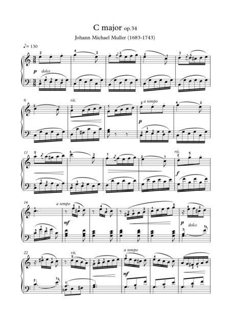 C major op 34