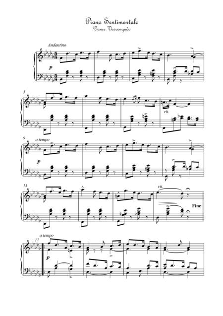 Piano Sentimentale dance