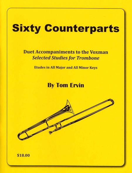 Sixty Counterparts Voxman Trombone Duets
