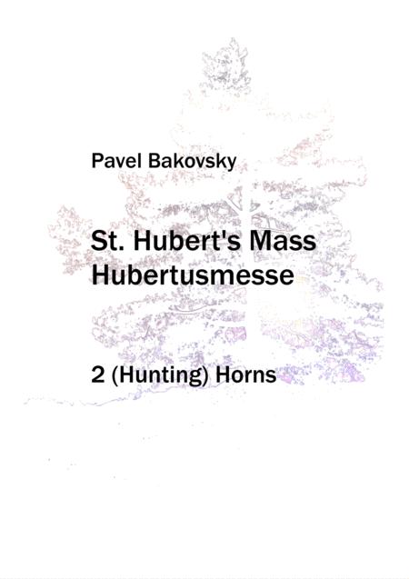 Hubertusmesse (St. Hubert's Mass)