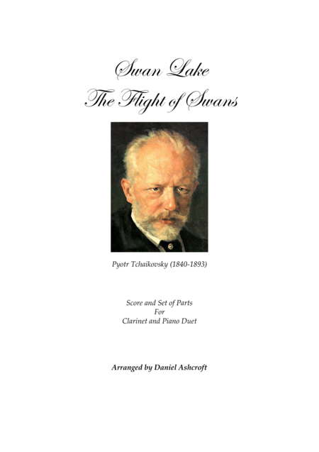 Tchaikovsky's The Flight of Swans - Score and Parts