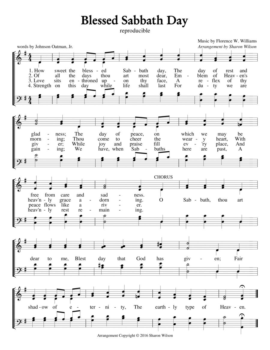 Blessed Sabbath Day
