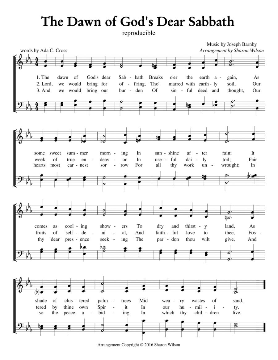 The Dawn of God's Dear Sabbath