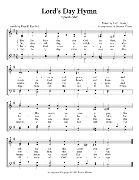 Lord's Day Hymn