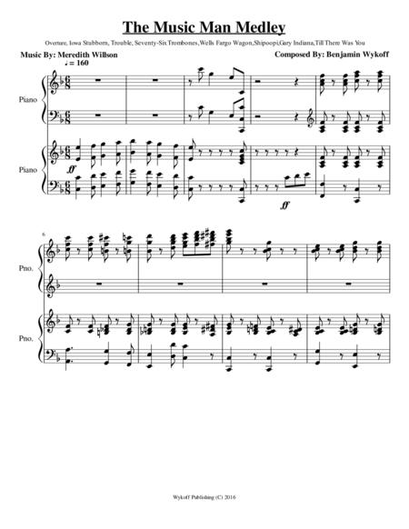 The Music Man Medley Duet