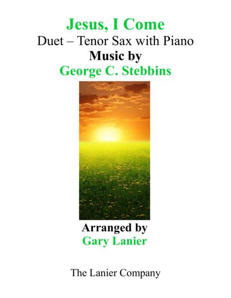 JESUS, I COME (Duet – Tenor Sax & Piano with Parts)