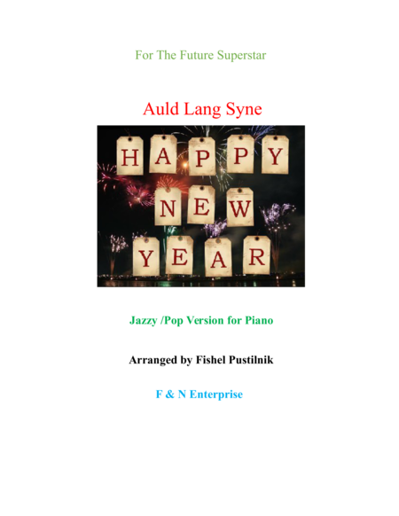 Auld Lang Syne-Jazzy/Pop Version