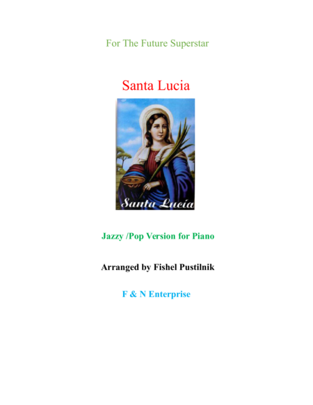 Santa Lucia-Jazzy/Pop Version