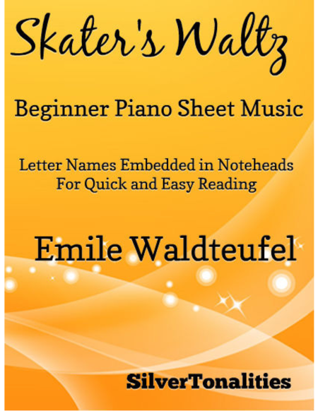 Skater's Waltz Beginner Piano Sheet Music