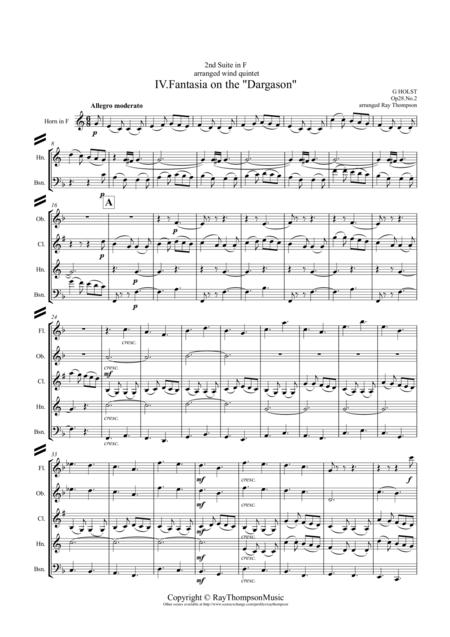 Holst: 2nd Suite in F Op. 28 No.2 Mvt. IV.
