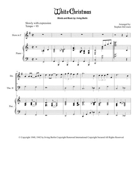 White Christmas (Brass Quintet)
