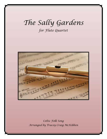 The Sally Gardens for Flute Quartet