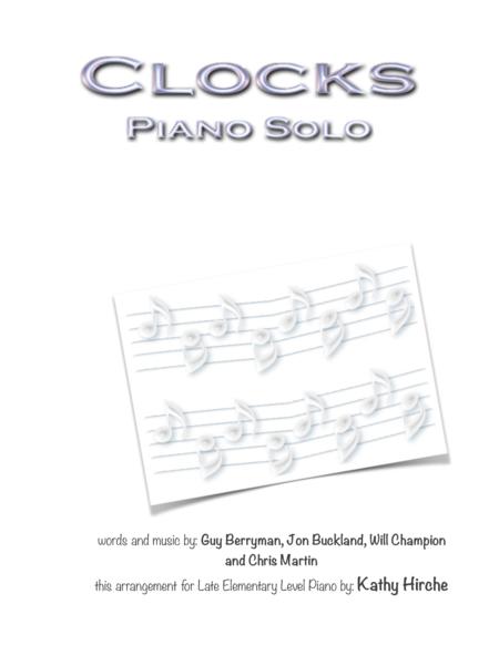 Clocks - Piano Solo