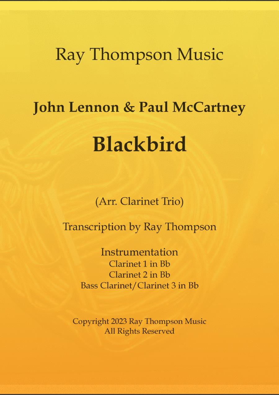 Beatles: Blackbird - clarinet trio