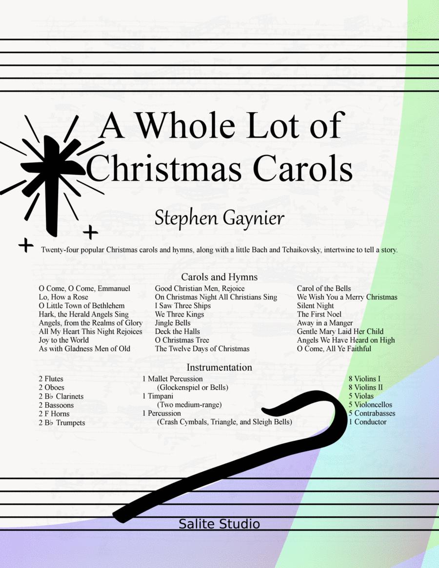 A Whole Lot of Christmas Carols