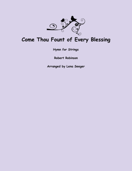 Come Thou Fount (String Orchestra)