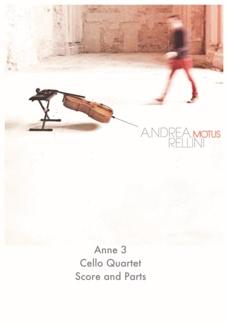 Anne 3 (Cello Quartet)