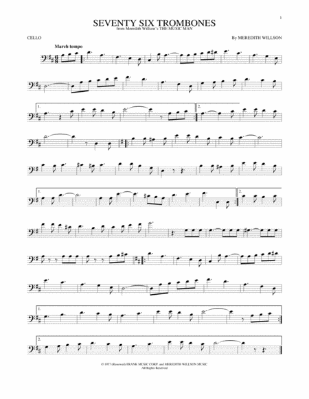 Seventy Six Trombones