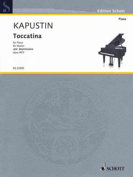 Toccatina, Op. 40, No. 3