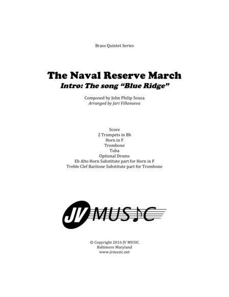 The Naval Reserve March