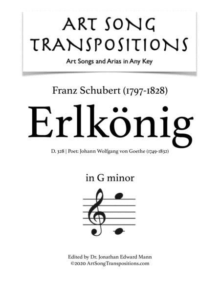 Erlkönig, D. 328 (G minor)