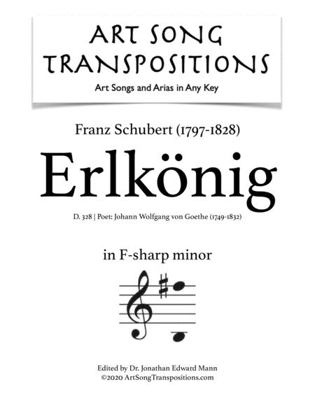 Erlkönig, D. 328 (F-sharp minor)