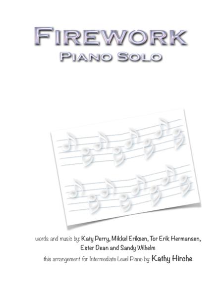 Firework - Piano Solo