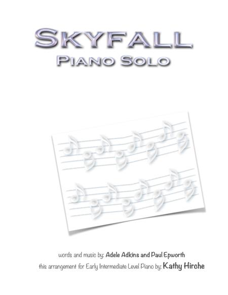 Skyfall - Piano Solo