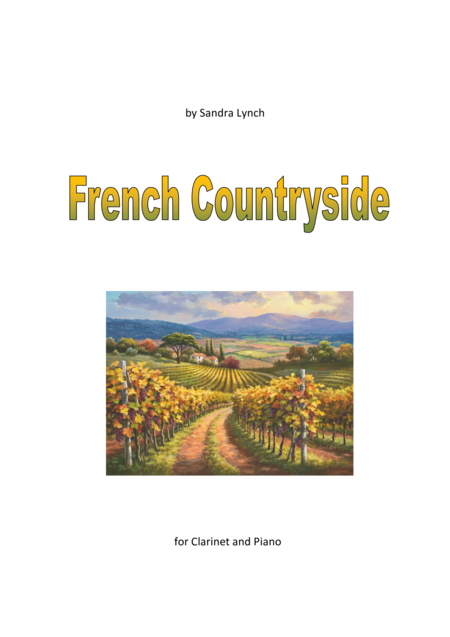 French Countryside for Clarinet