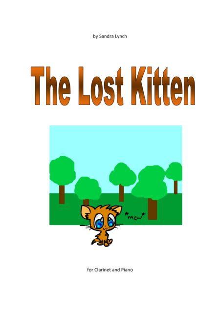 The Lost Kitten for Clarinet