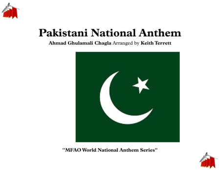 Pakistani National Anthem for Brass Quintet