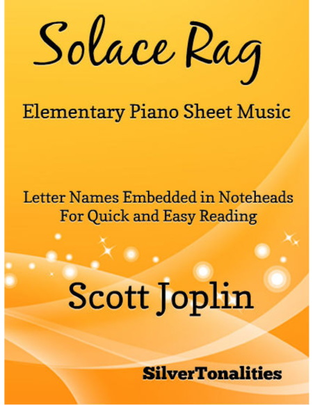 Solace Rag Elementary Piano Sheet Music