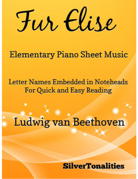 Fur Elise Elementary Piano Sheet Music