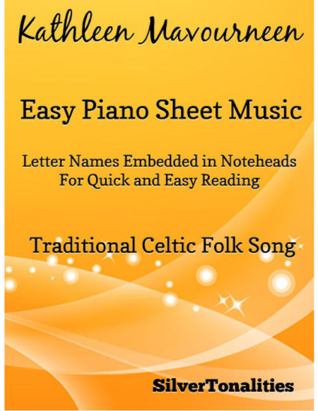 Kathleen Mavourneen Easy Piano Sheet Music