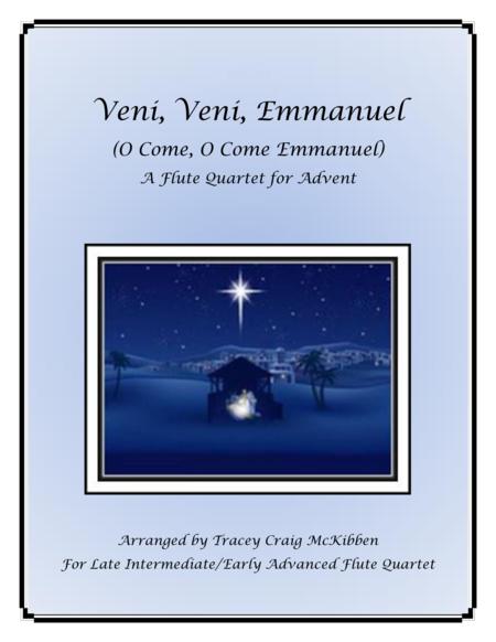 Veni, Veni, Emmanuel for Flute Quartet