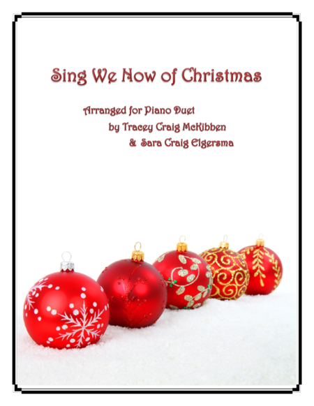 Sing We Now of Christmas (Piano Duet)