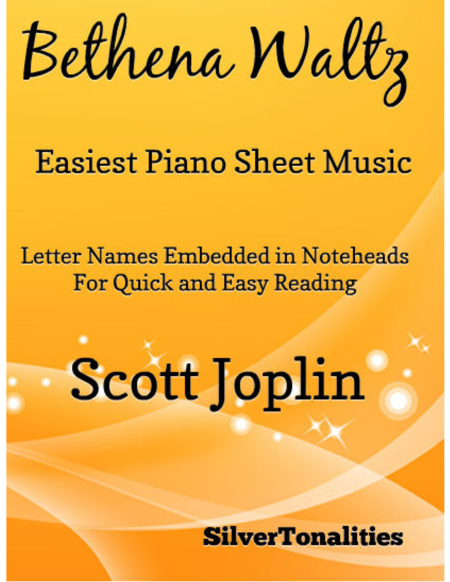 Bethena Waltz Easiest Piano Sheet Music