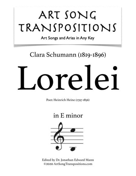 Lorelei (E minor)